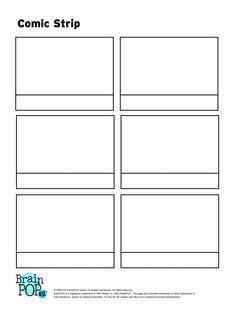 Sample Comic Strip - 6 Documents in PDF